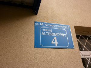 grzegorzewskiej 3 - alternatywy 4
