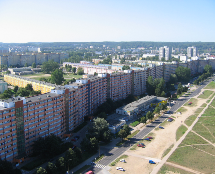 #kultoweadresy: Najdłuższy blok w Polsce