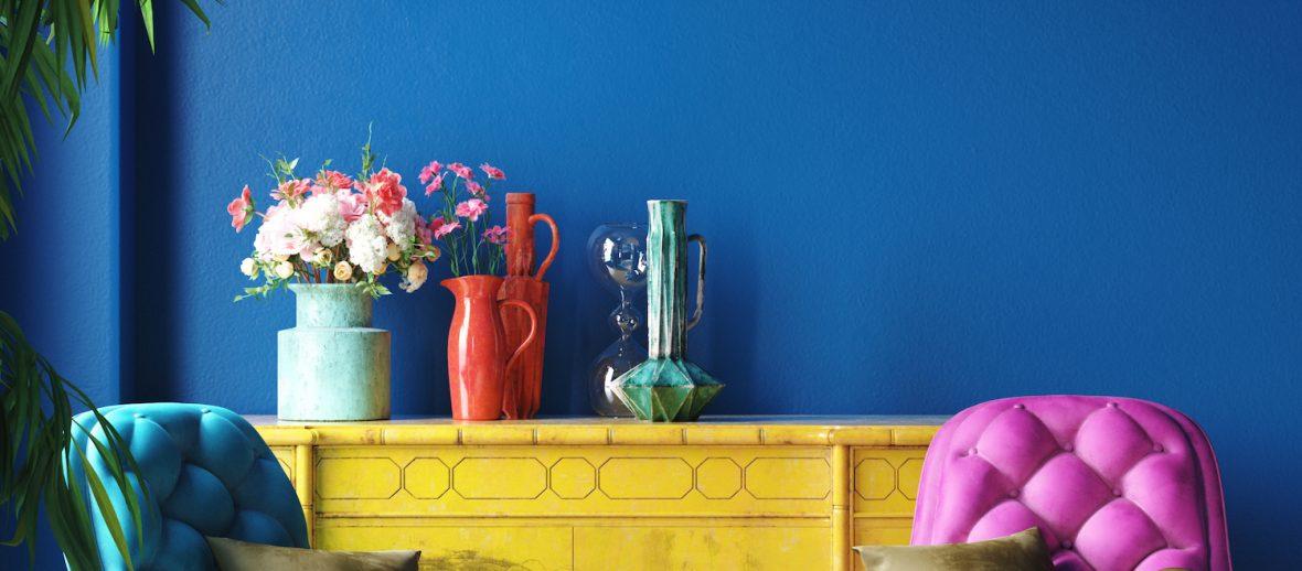 Jak łączyć kolory w mieszkaniu?