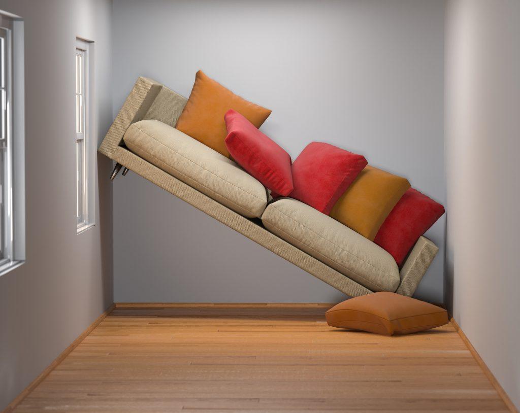 optyczne powiększenia mieszkania